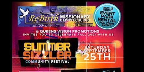 SUMMER SIZZLER COMMUNITY FESTIVAL tickets