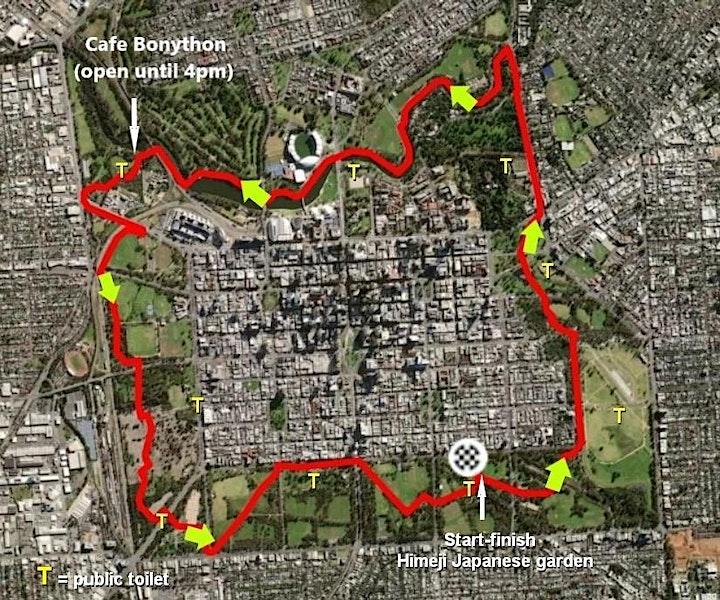 Park Lands Loop collective:  16km Walk, Ride or Run image