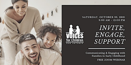 Invite, Engage, Support: Communicating & Engaging with Families tickets