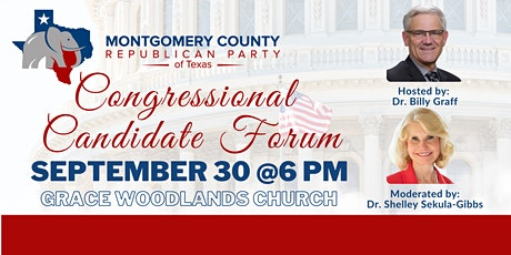 Congressional Candidate Forum tickets