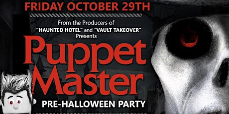 Puppet Master Halloween Party Hosted By Joselito Da Puppet tickets