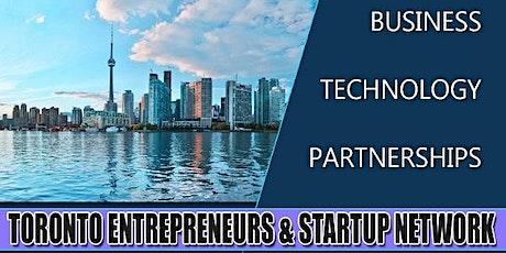 Toronto's Big Business, Tech & Entrepreneur Professional Networking Soiree tickets