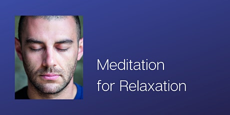 Meditation for Relaxation tickets