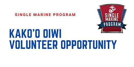 SM&SP Kako'o O'iwi Volunteer Opportunity tickets