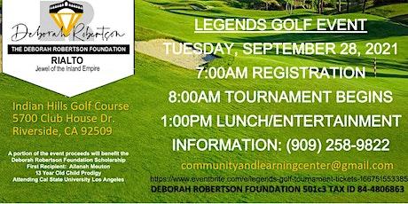 Legends Golf Tournament tickets