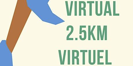The 2.5K Virtual Challenge / Le Défi Virtuel  2.5K billets