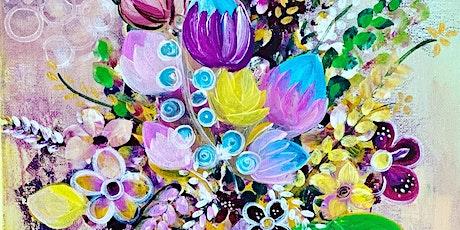 Floral Fantasy/Acrylics tickets