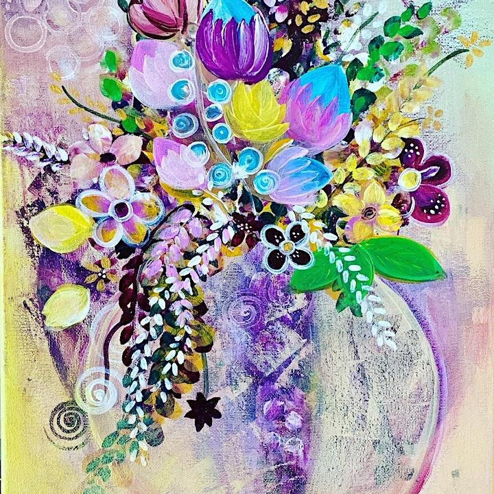 Floral Fantasy/Acrylics image