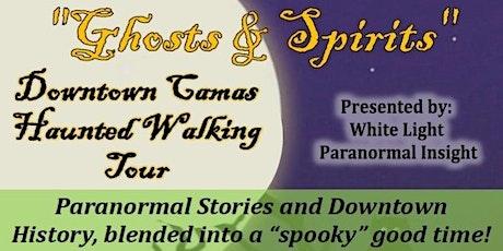 """Ghosts & Spirits"" Downtown Camas Haunted Walking Tour tickets"