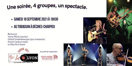 Soirée Caritative Music Hall in Lyon billets