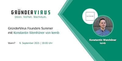 GründerVirus Founders Summer: kemb
