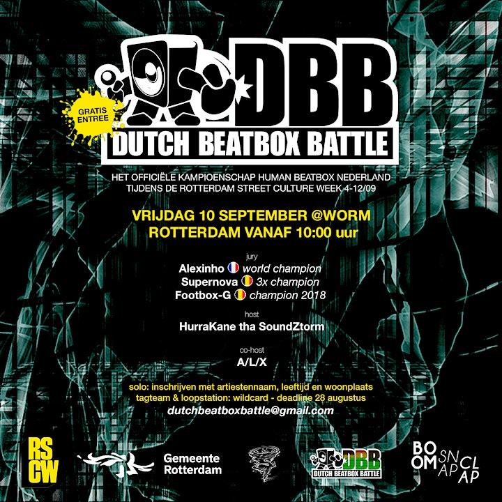 Afbeelding van Dutch Beatbox Battle 2021