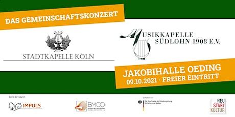 Gemeindschaftskonzert der Stadtkapelle Köln und der Musikkapelle Südlohn tickets