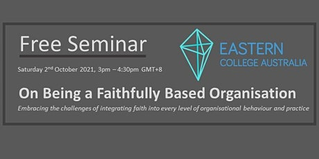 On Being a Faithfully Based Organisation tickets