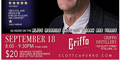 Scott Capurro in Petaluma! tickets