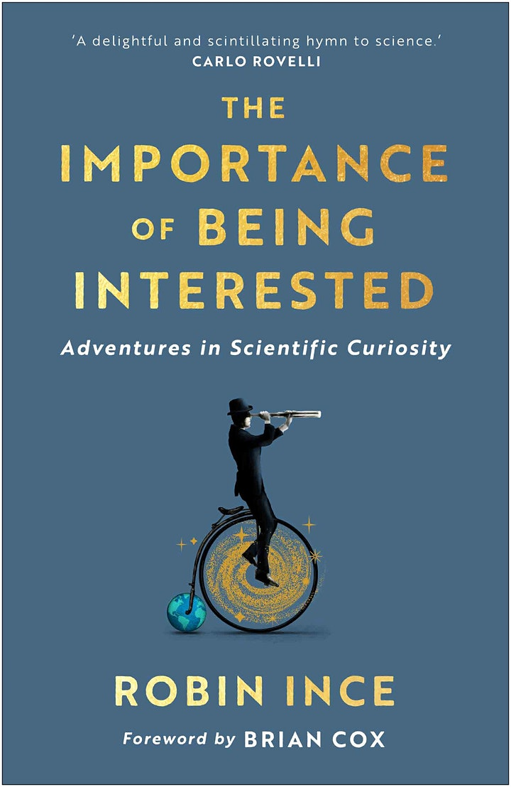 Robin Ince - 100 Bookshops Tour - The Importance of Being Interested image