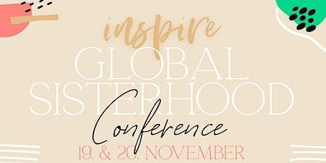 INSPIRE Global Sisterhood Conference, Lisbon bilhetes
