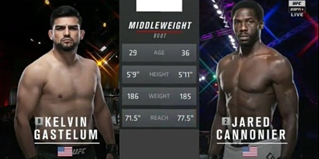 StREAMS@>! (LIVE)-GASTELUM v CANNONIER FIGHT LIVE ON 2021 tickets