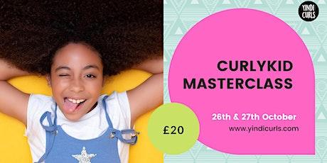 Yindi Curls Curly Kid Masterclass: East London tickets