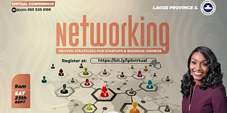 NETWORKING (PROVEN STRATEGIES FOR STARTUPS & BUSINESS OWNERS) tickets