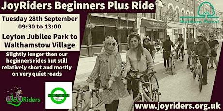 Beginner Plus Ride: Leyton Jubilee Park to Walthamstow Village tickets