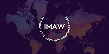 International Mediation Awareness Week 2021 tickets