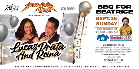Fundraiser Merlins Kids w/Autism BBQ for Beatrice Sept.26 Sunday tickets