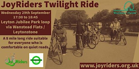 Twilight Ride (Intermediate) starting from Leyton Jubilee Park tickets