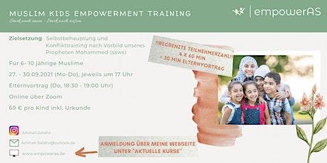 Muslim Kids Empowerment Training (Sep) Tickets