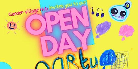 Garden Village Hub Open Event tickets
