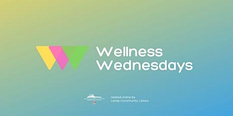 Art class for Adults and Children - Wellness Wednesdays tickets