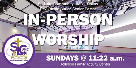 IN-PERSON WORSHIP  EXPERIENCE tickets