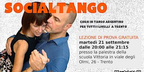 Lezione di prova Tango Argentino biglietti