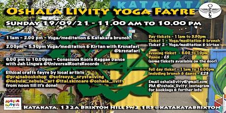 Oshala Livity Yoga Fayre tickets