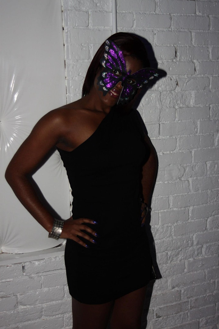 All Black Masquerade image