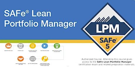 Lean Portfolio Management with Certified SAFe® Lean Portfolio Manager tickets