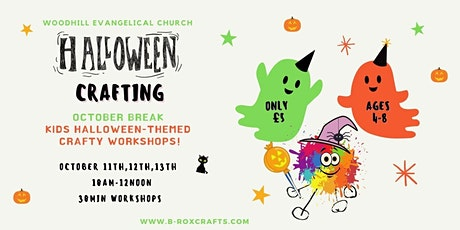 Halloween Crafts for Kids- Magical Crafting Club tickets