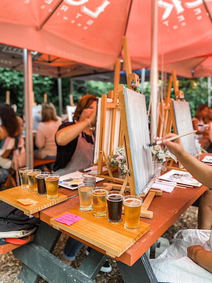 Beer & Paint at Lock street Brewary  Biergarten image