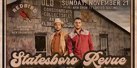 Statesboro Revue @ The Redbird - 4 pm tickets