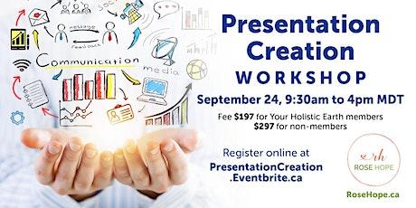 Presentation Creation Workshop Tickets