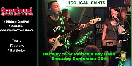 Halfway to St Paddy's Day Bash featuring The Hooligan Saints tickets