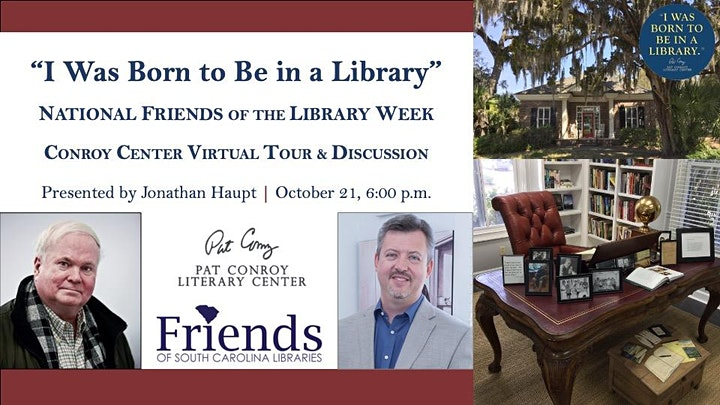 """""""I Was Born to Be in a Library"""" Virtual Tour & Discussion, with FOSCL image"""