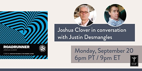Joshua Clover in conversation with Justin Desmangles tickets
