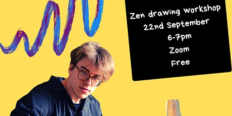 'Be More Zen' Digital Drawing Workshop tickets
