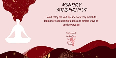 Monthly Mindfulness tickets
