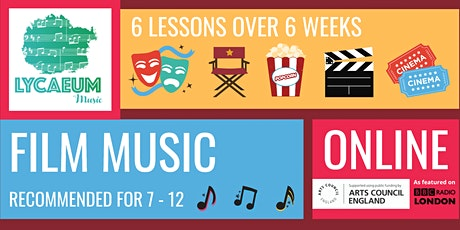 Film Music (10-12yo) - Pick your weekly time slot tickets