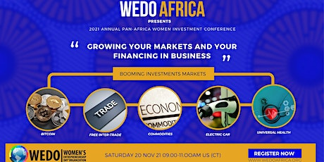 GROWING YOUR MARKETS AND YOUR FINANCING IN BUSINESS tickets