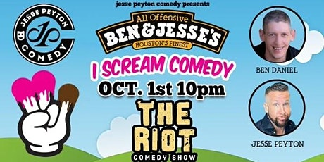 """The Riot Standup Comedy Show presents """"I Scream Comedy"""" tickets"""