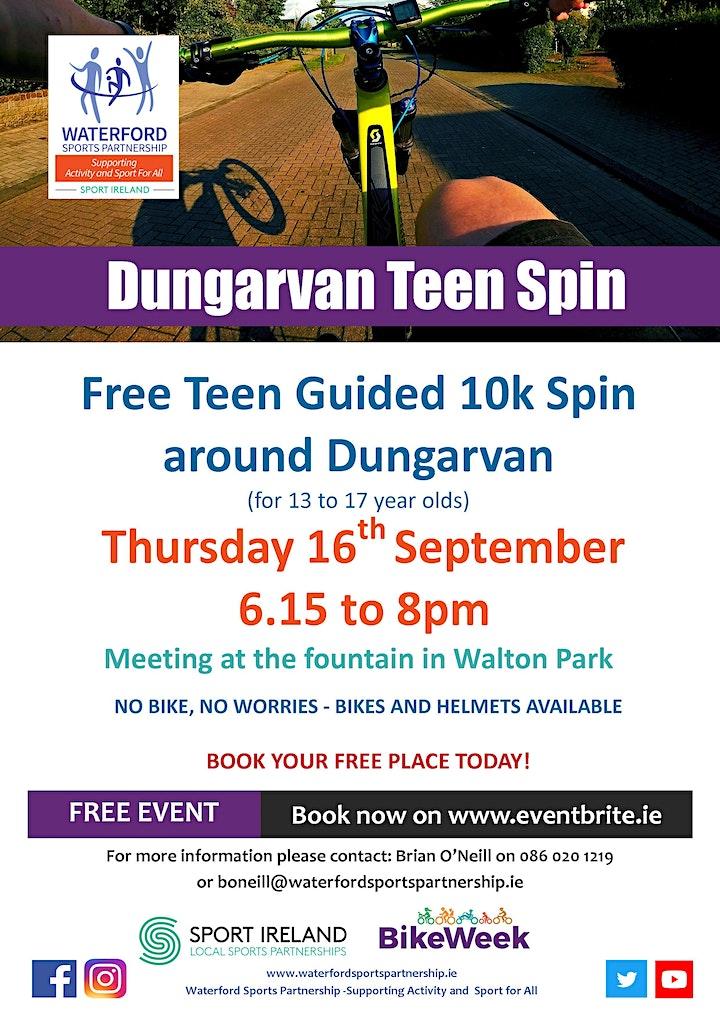 Bike Week - Dungarvan Teen Spin image