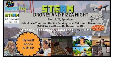 BESThq's Hybrid STEAM Drones & Pizza Night (9/28)